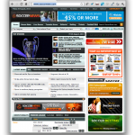 SoccerNews.com website
